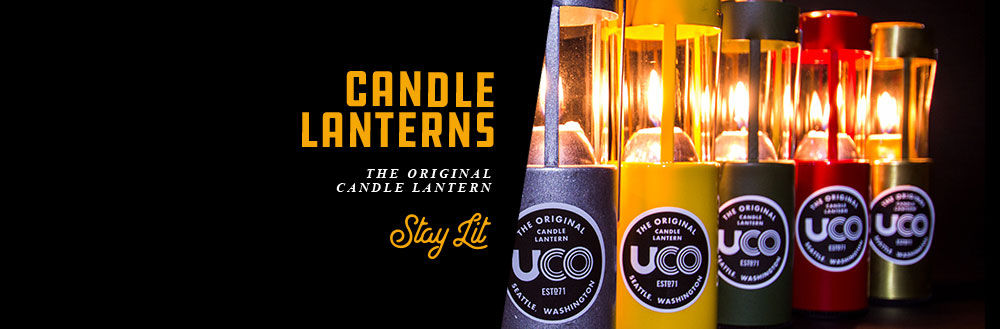 UCO Candle Lanterns are the best and original candle lanterns. Built for campers since 1971