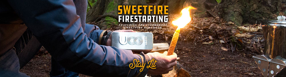 Sweetfire Behemoth Strikable Tinder Sticks Burn for 15 minutes