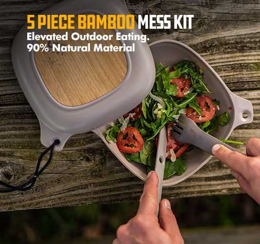 UCO Bamboo Elements Mess Kit
