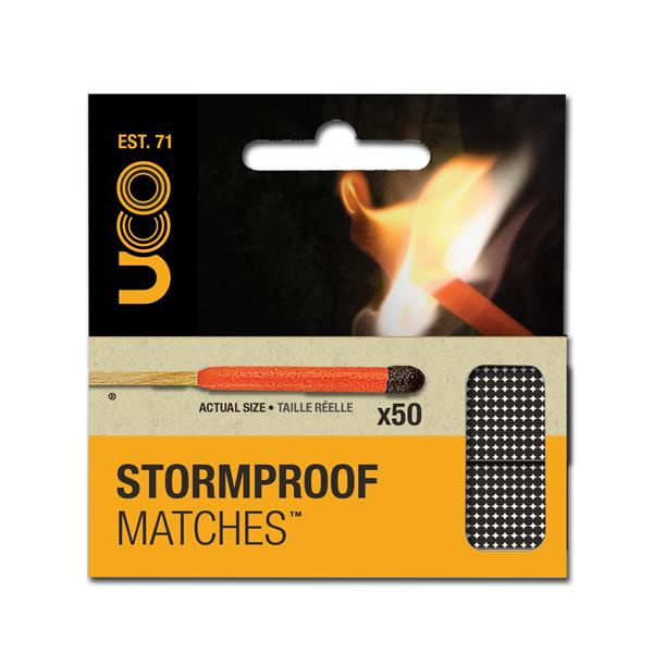 uco stormproof matches 50 matches uco gear